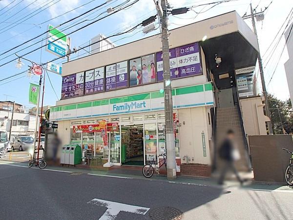 現地周辺ファミリーマート武蔵境南口店 490m