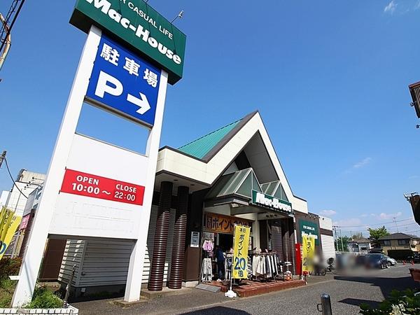 現地周辺マックハウス東村山店 646m