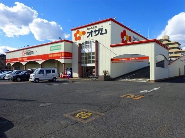 現地周辺スーパーオザム新堀店 1046m