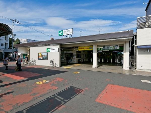 現地周辺新秋津駅(JR武蔵野線) 730m