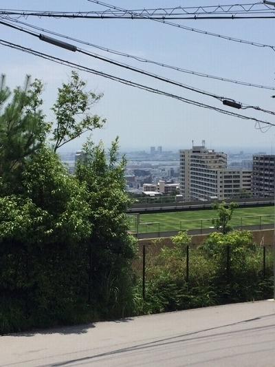 その他前面道路含む現地写真:桜ヶ丘 土地(61号地) 眺望