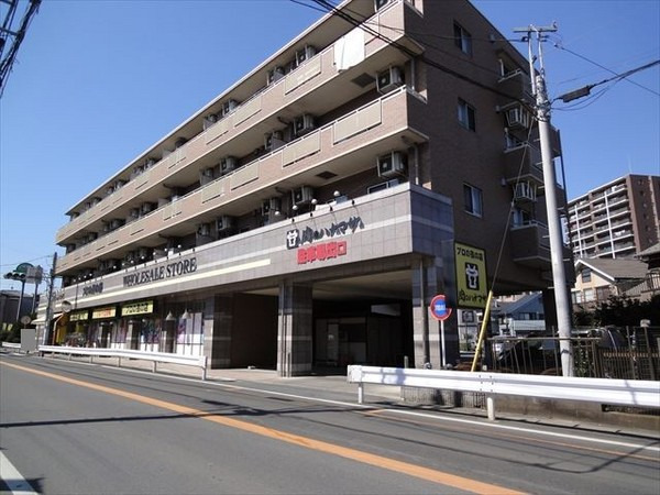 現地周辺肉のハナマサひばりヶ丘店 1107m