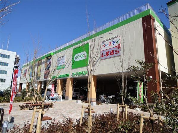 現地周辺コープ花小金井店 1376m