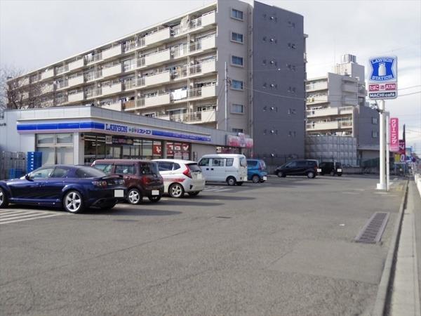 現地周辺ローソン・スリーエフ所沢向陽町店 425m
