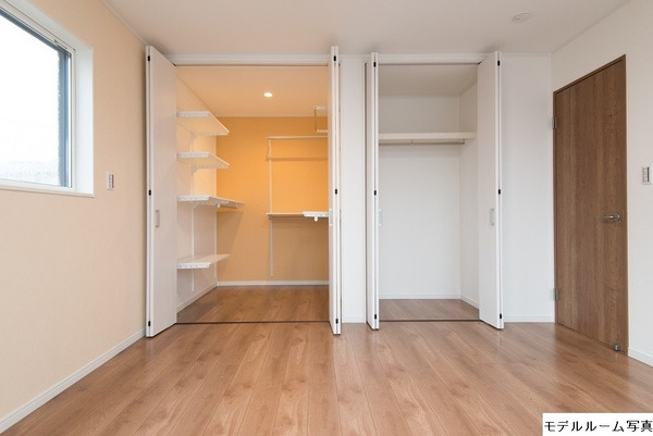 その他モデルハウス写真:寝室収納(モデルハウス写真)