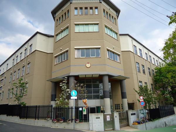 現地周辺神戸市立高羽小学校 1051m