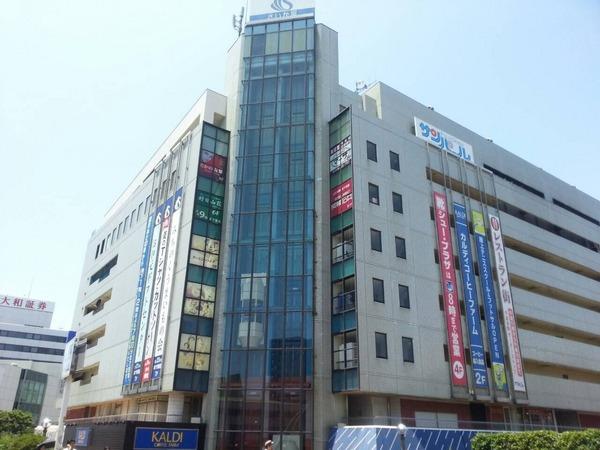 現地周辺藤沢市役所 1068m