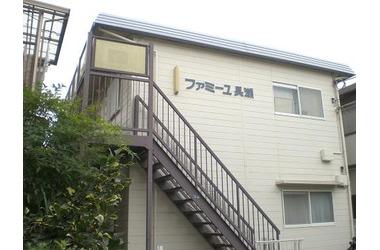 綱島 バス3分 停歩15分1階2DK 賃貸アパート