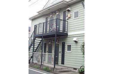 綱島 バス25分 停歩3分2階2DK 賃貸アパート