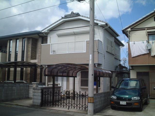 藍住町奥野戸建て 1-2階 4LDK 賃貸貸家