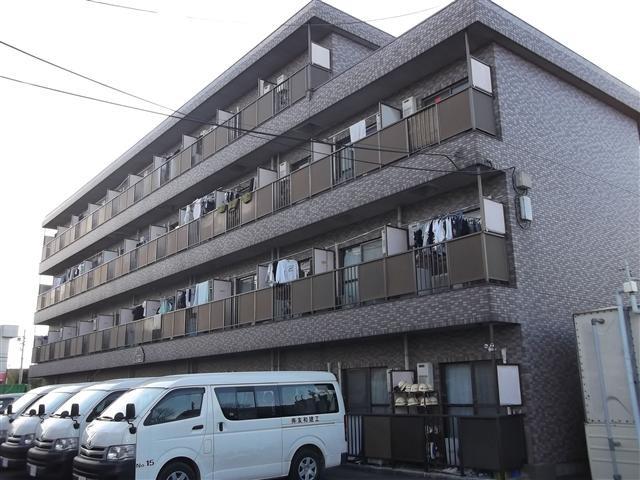 浦和 バス20分 停歩5分 4階 1K 賃貸マンション