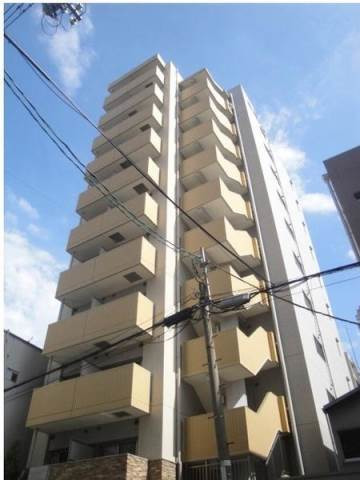 本町 徒歩12分 10階 1K 賃貸マンション