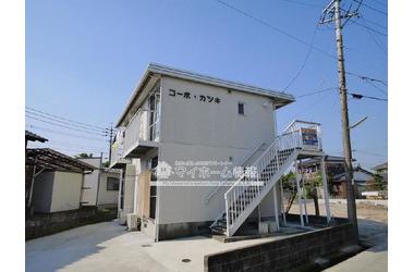 神埼 バス5分 停歩15分 2階 1K 賃貸コーポ
