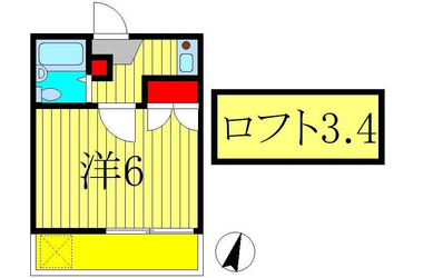 増尾 徒歩8分 1階 1K 賃貸コーポ