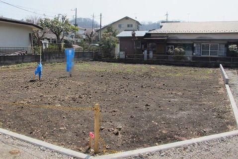 外観長方形に近い地型で使いやすい土地となっております。敷地面積も広く開放感があります。