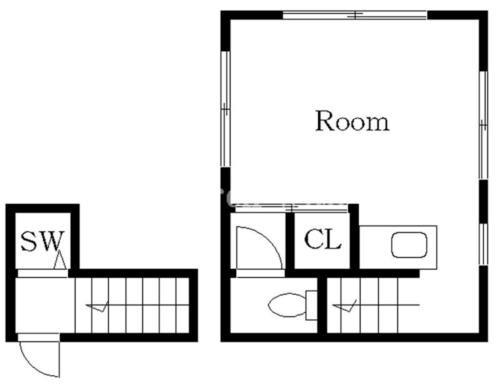 恵比寿 徒歩21分 2階 1R 賃貸アパート