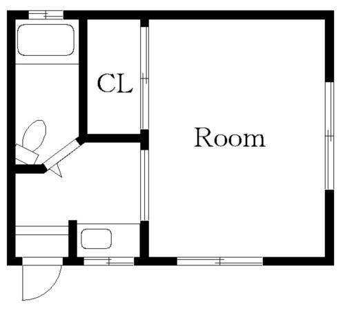 中目黒 徒歩21分 2階 1K 賃貸アパート