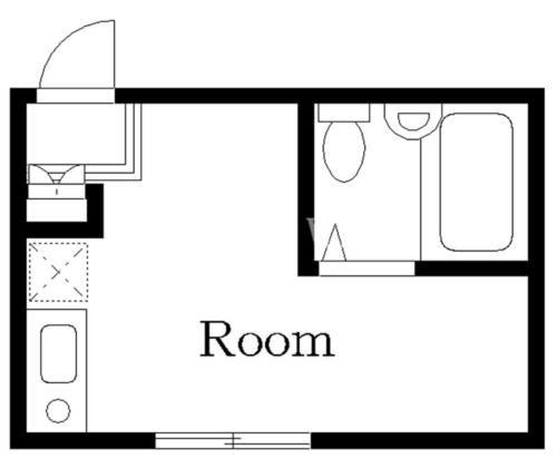 恵比寿 徒歩8分 2階 1R 賃貸アパート