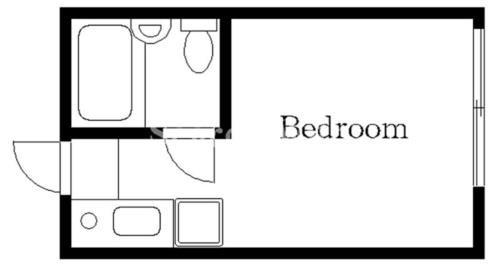 下北沢 徒歩8分 1階 1R 賃貸アパート