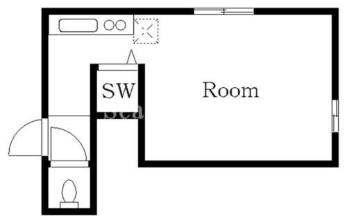 恵比寿 徒歩21分1階1R 賃貸アパート
