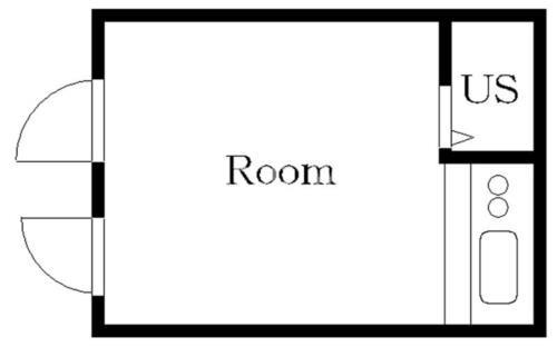大岡山 徒歩8分 2階 1R 賃貸アパート