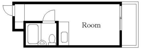 武蔵小杉 徒歩15分 2階 1R 賃貸アパート