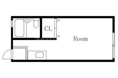 沼部 徒歩15分2階1R 賃貸アパート