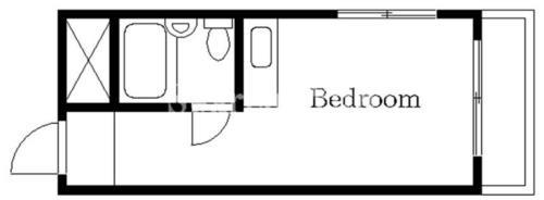 自由が丘 徒歩25分 5階 1R 賃貸マンション