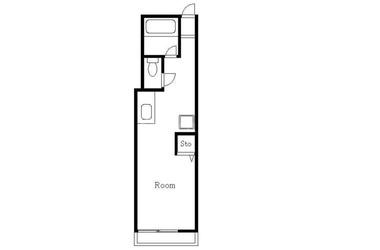 恵比寿 徒歩22分3階1R 賃貸マンション