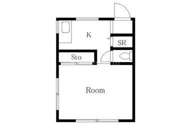 白金高輪 徒歩9分 4階 1K 賃貸マンション