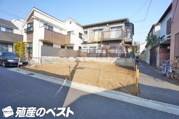 外観世田谷区八幡山2丁目の土地。使いやすい整形地の敷地です。