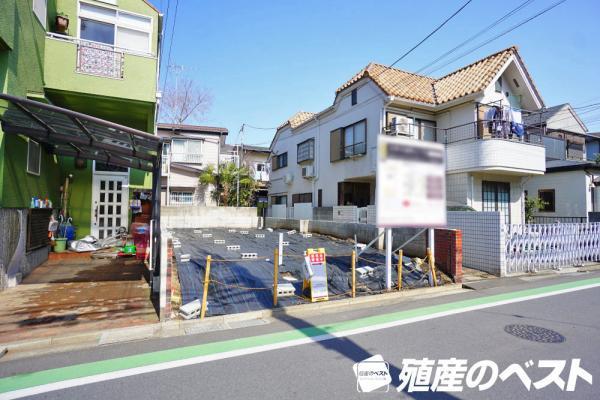 外観JR中央線「西荻窪」駅より徒歩約8分。使いやすい整形地の敷地です。