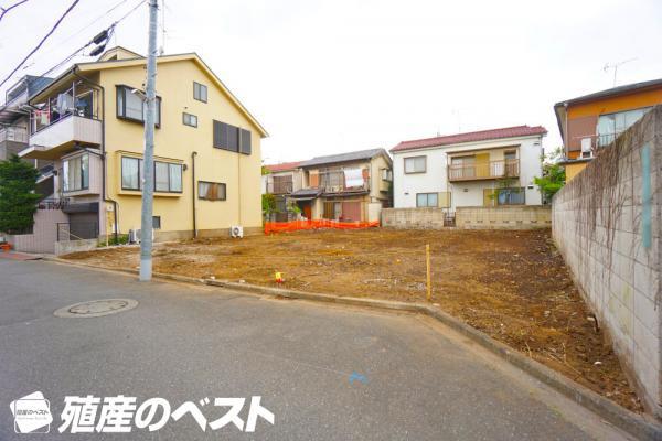 外観中野区鷺宮5丁目の土地分譲。西武新宿線「鷺ノ宮」駅「下井草」駅徒歩約10分の便利な立地です。