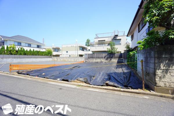 外観武蔵野市吉祥寺東町2丁目の土地分譲です。敷地面積は約39坪超です。
