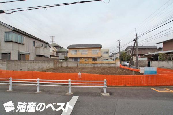 外観武蔵野市吉祥寺南町4丁目の土地です。2区画共に44.82坪のゆとりある敷地です。