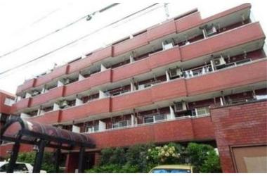 中目黒 徒歩13分4階1K 賃貸マンション