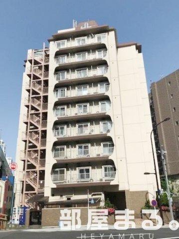 中目黒 徒歩17分8階1R 賃貸マンション