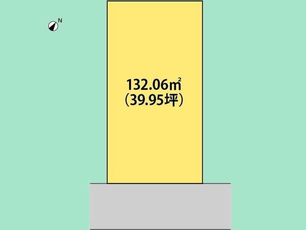 外観外観:敷地広々39.94坪。整形地。