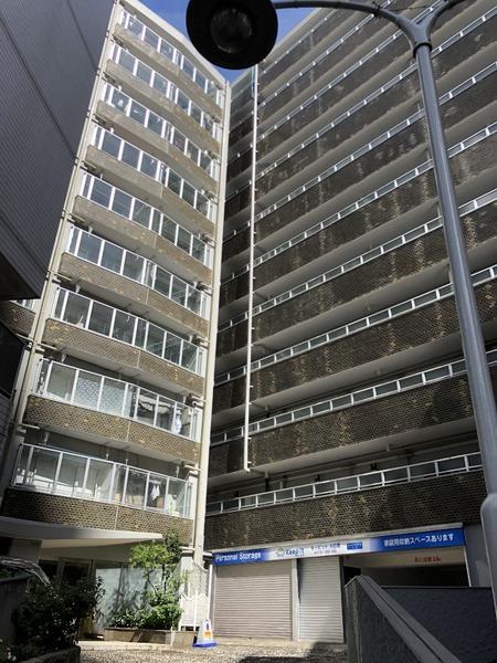 9階部分で眺望良好,ペットと暮らせるマンション/東京都目黒区中目黒1丁目