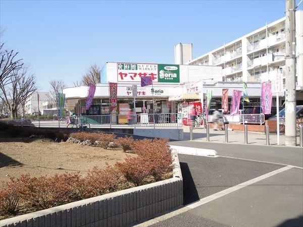 現地周辺スーパーマーケットヤマザキ西久留米 1397m
