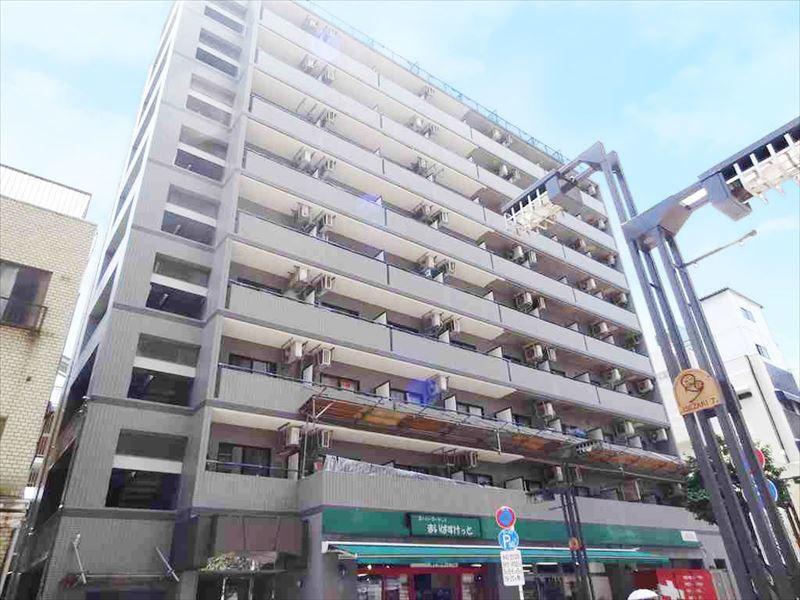 阪東橋 徒歩3分1R/ユニオンマンスリー阪東橋駅前3