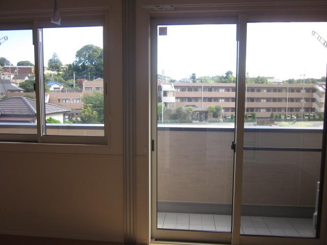 居室307の窓から