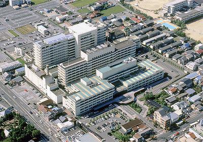 現地周辺大垣市民病院 950m