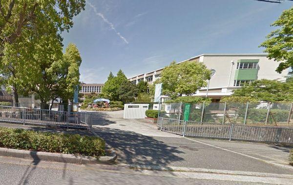 現地周辺神戸市立唐櫃中学校 1477m