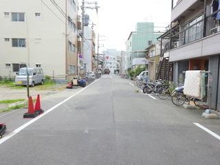 その他前面道路含む現地写真:現地前面道路