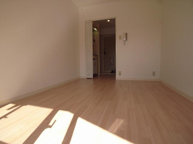 居室落ち着いた色調の洋室です