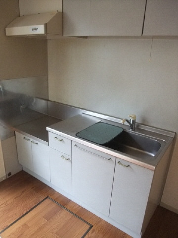 居室2口ガスコンロ設置可キッチン