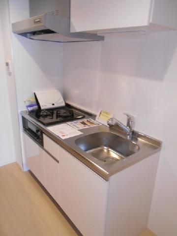 居室グリル付き2口ガスシステムキッチン