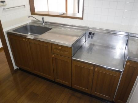 居室広々キッチンスペース