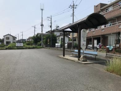 現地周辺最寄りのバス停「原宿五丁目」